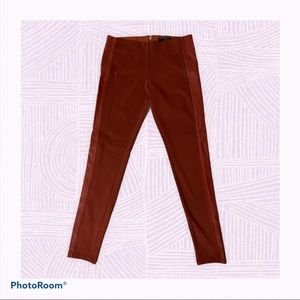 GUESS Skinny Pants with Faux Leather Stripe